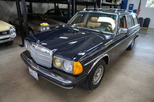 Orig California 1985 Mercedes 300 Turbo Diesel Wagon  For Sale