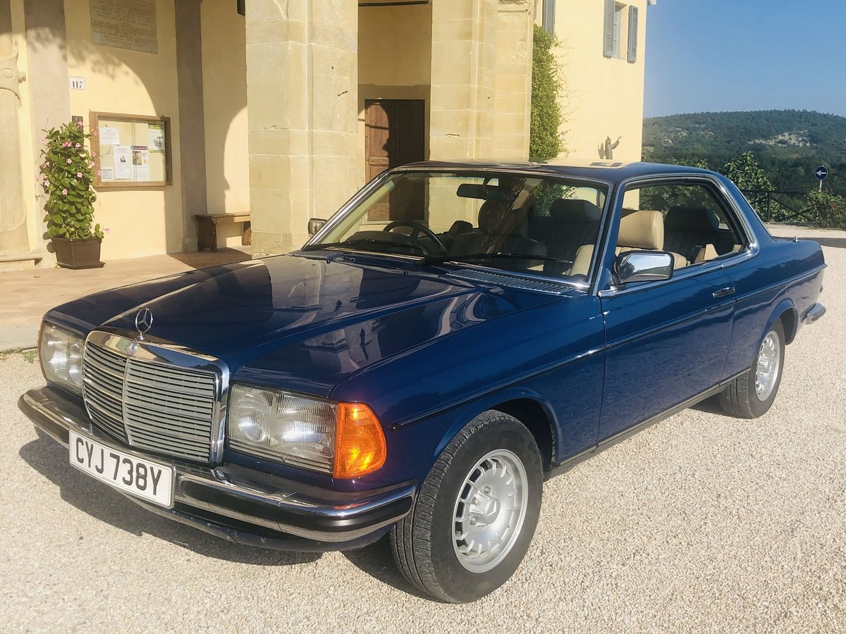1983 Mercedes 280. Exceptionally beautiful, timeless. For Sale (picture 1 of 6)