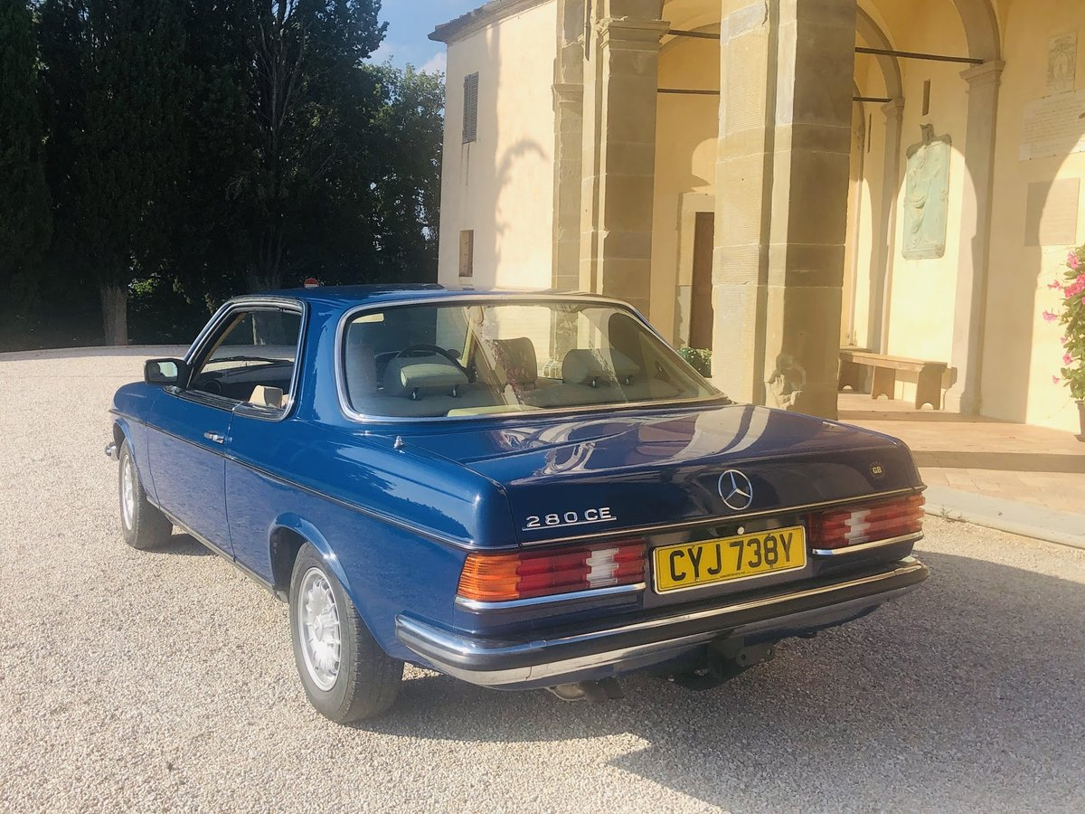 1983 Mercedes 280. Exceptionally beautiful, timeless. For Sale (picture 4 of 6)