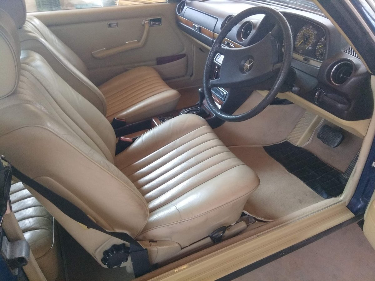1983 Mercedes 280. Exceptionally beautiful, timeless. For Sale (picture 6 of 6)
