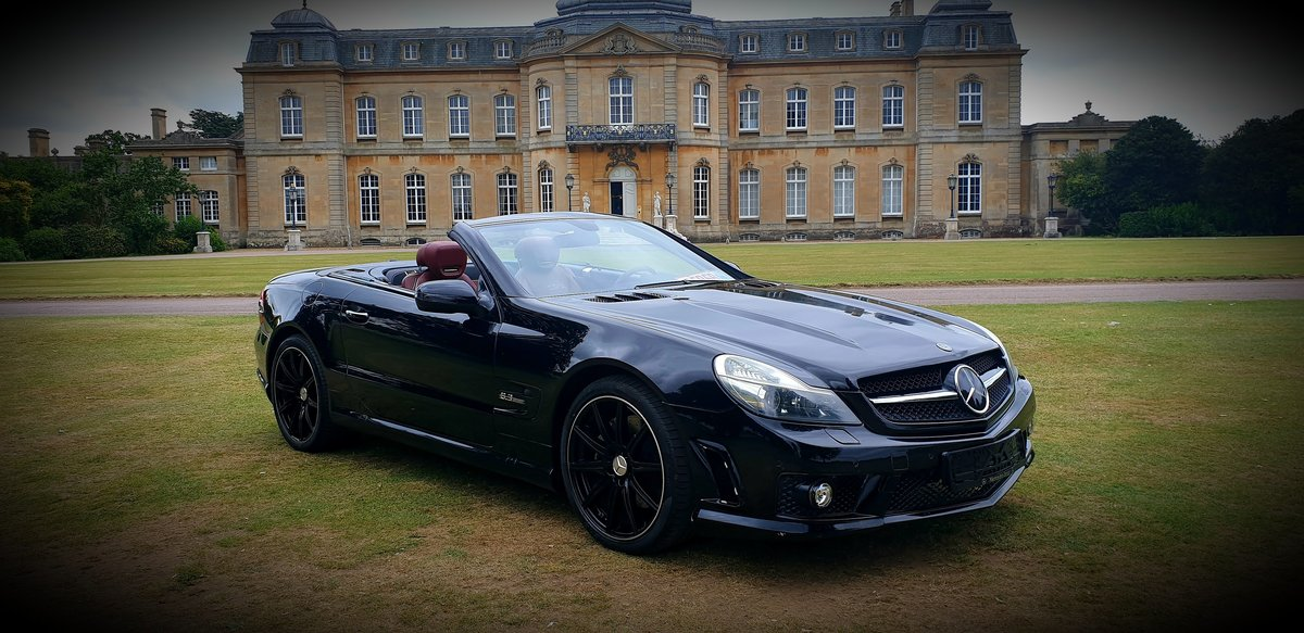 2011 LHD Mercedes SL500 AMG (SL63 AMG REPLICA), CONVERTIBLE For Sale (picture 1 of 6)