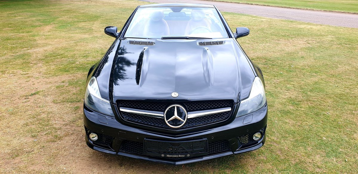 2011 LHD Mercedes SL500 AMG (SL63 AMG REPLICA), CONVERTIBLE For Sale (picture 3 of 6)