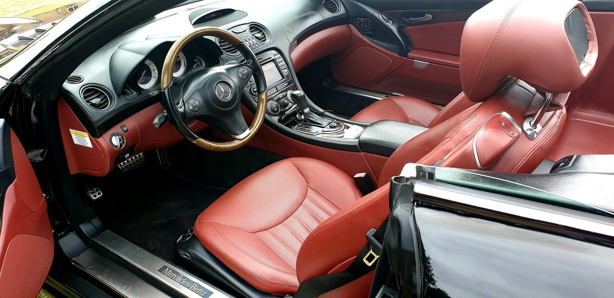 2011 LHD Mercedes SL500 AMG (SL63 AMG REPLICA), CONVERTIBLE For Sale (picture 6 of 6)