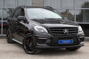 2013 13 MERCEDES BENZ ML63 AMG 5.5 V8 BI TURBO AUTO