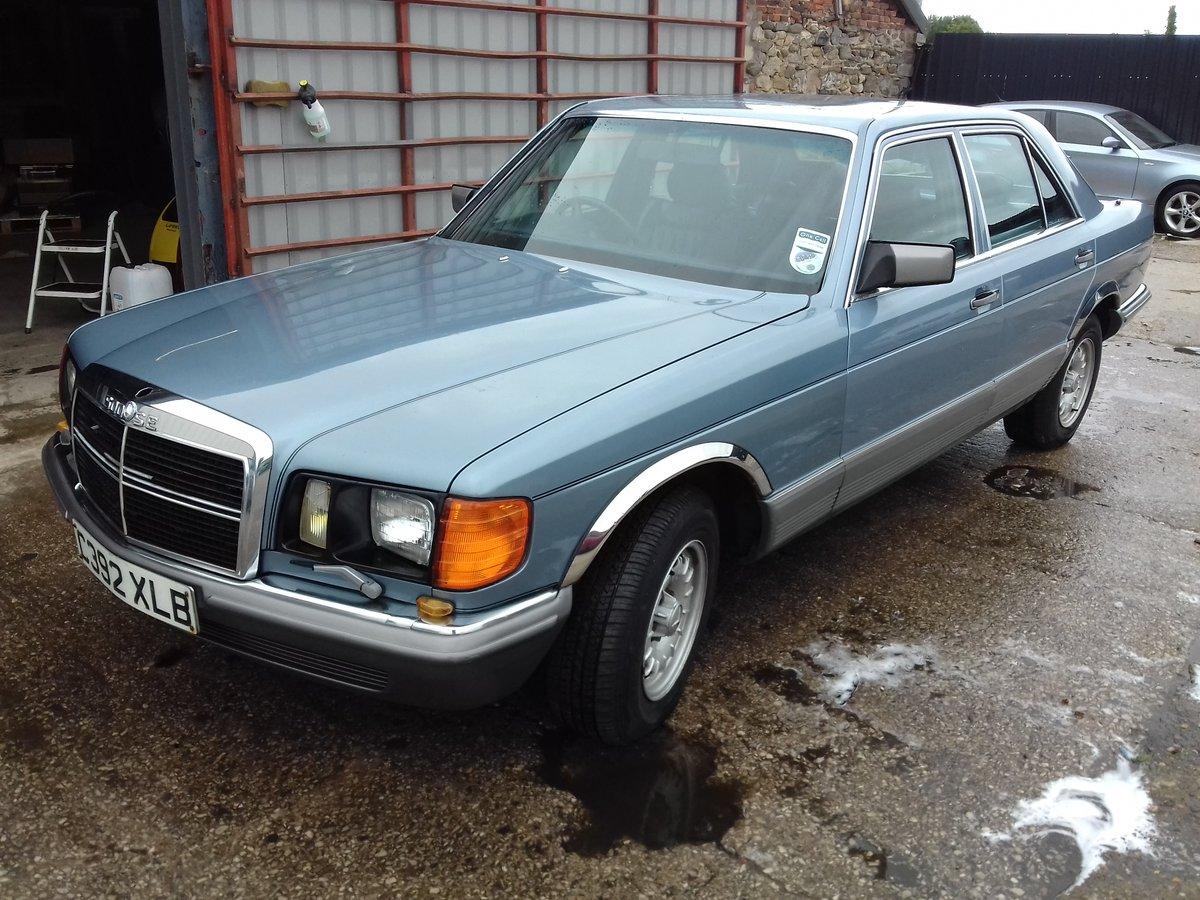 1986 Mercedes 500SE V8 For Sale (picture 1 of 6)