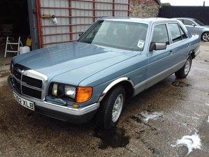 1986 Mercedes 500SE V8 For Sale