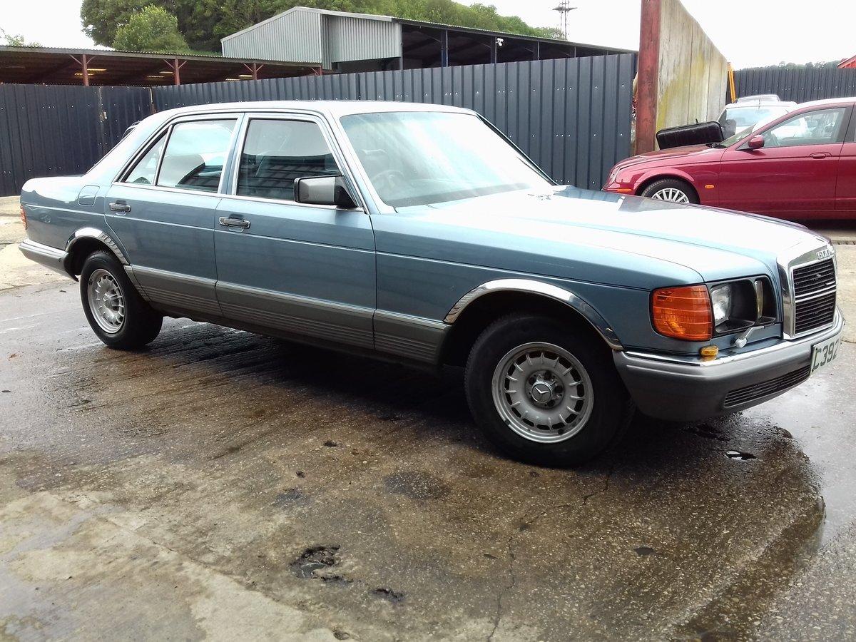1986 Mercedes 500SE V8 For Sale (picture 5 of 6)
