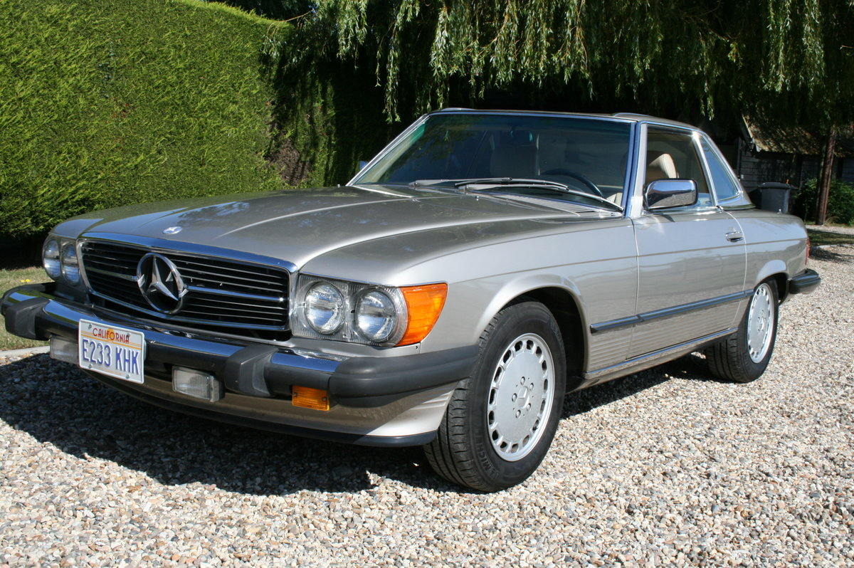 1988 Mercedes-Benz 560 SL AUTO. 2 owner from new.46,000 miles For Sale (picture 1 of 6)