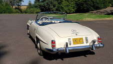 1957 Mercedes 190SL Clean Ivory(~)Navy Driver Solid $89k  For Sale (picture 2 of 5)
