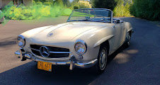 1957 Mercedes 190SL Clean Ivory(~)Navy Driver Solid $89k  For Sale (picture 4 of 5)