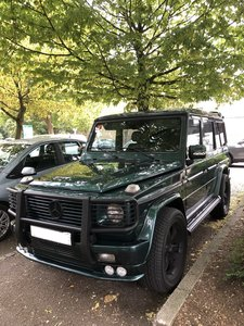 2001 Mercedes G-wagon