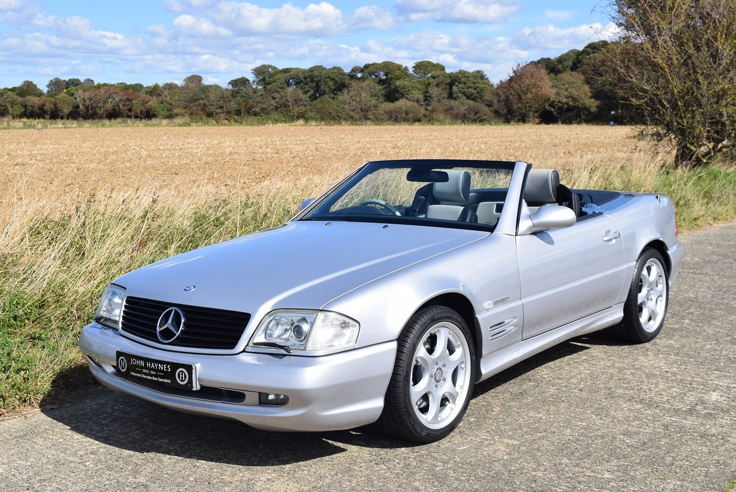2001 Mercedes-Benz SL500 Silver Arrow For Sale (picture 1 of 6)