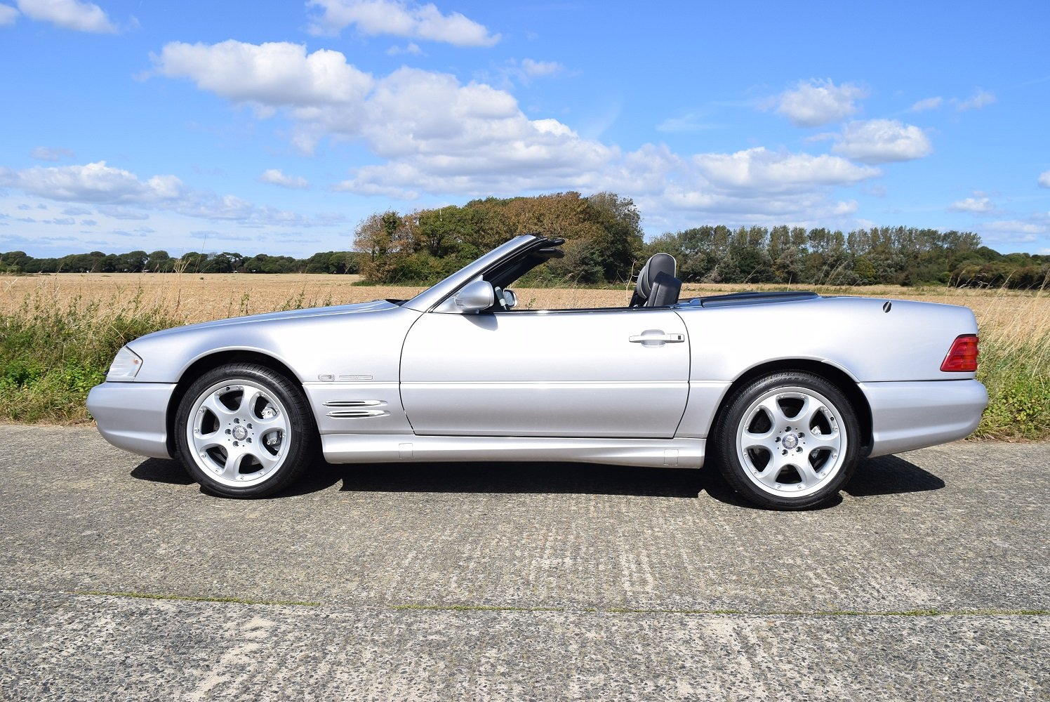 2001 Mercedes-Benz SL500 Silver Arrow For Sale (picture 2 of 6)
