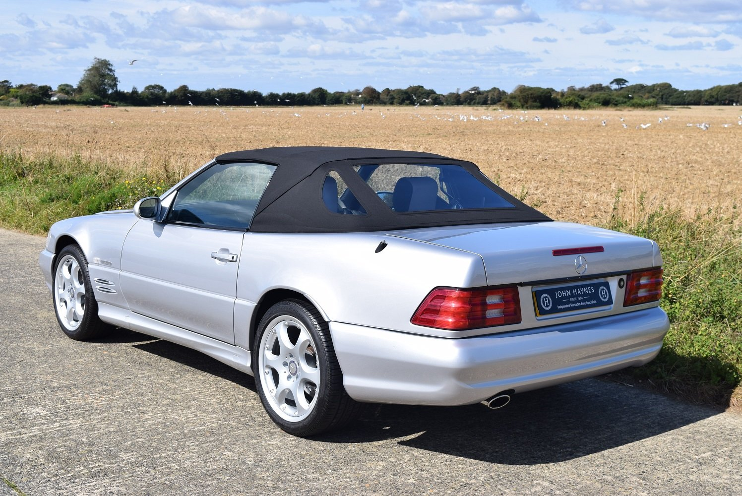 2001 Mercedes-Benz SL500 Silver Arrow For Sale (picture 5 of 6)