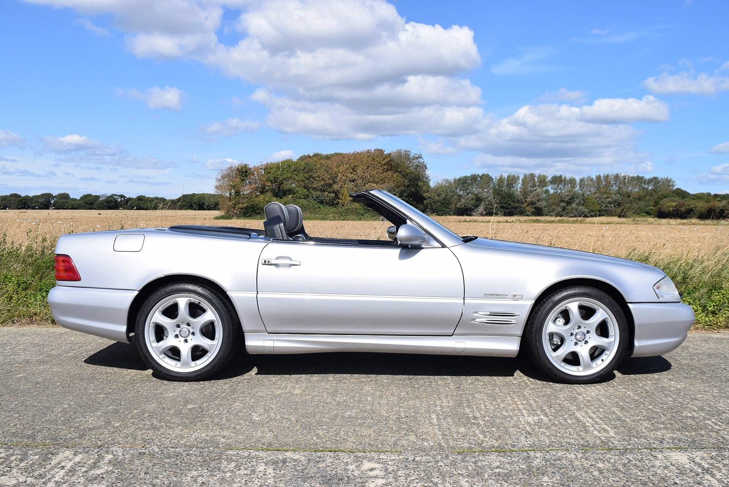 2001 Mercedes-Benz SL500 Silver Arrow For Sale (picture 6 of 6)