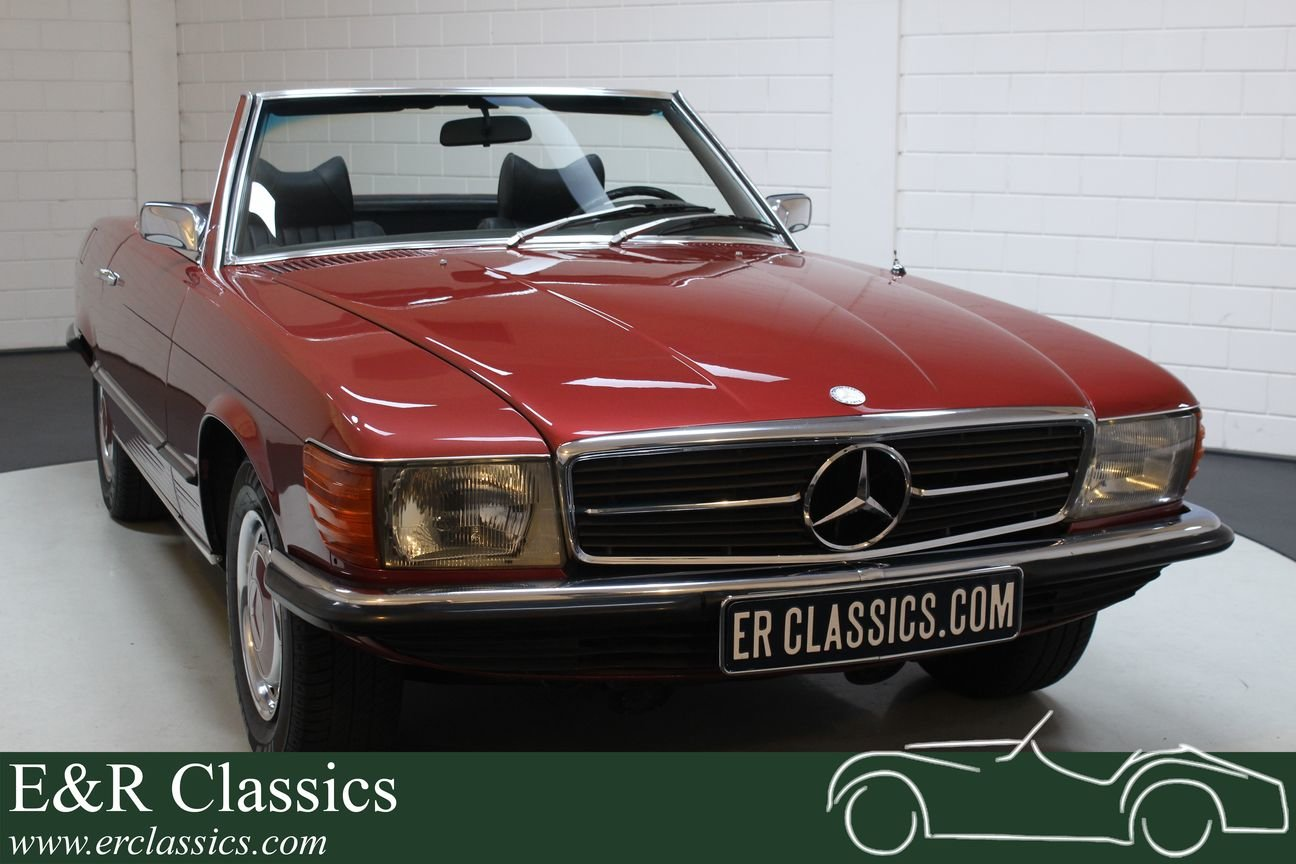 Mercedes-Benz 350SL Cabriolet 1971 Very nice condition For Sale (picture 1 of 6)