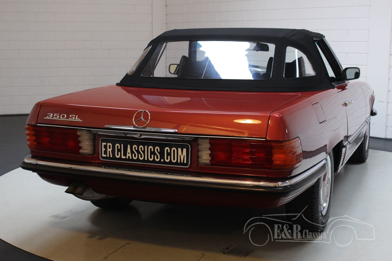 Mercedes-Benz 350SL Cabriolet 1971 Very nice condition For Sale (picture 6 of 6)
