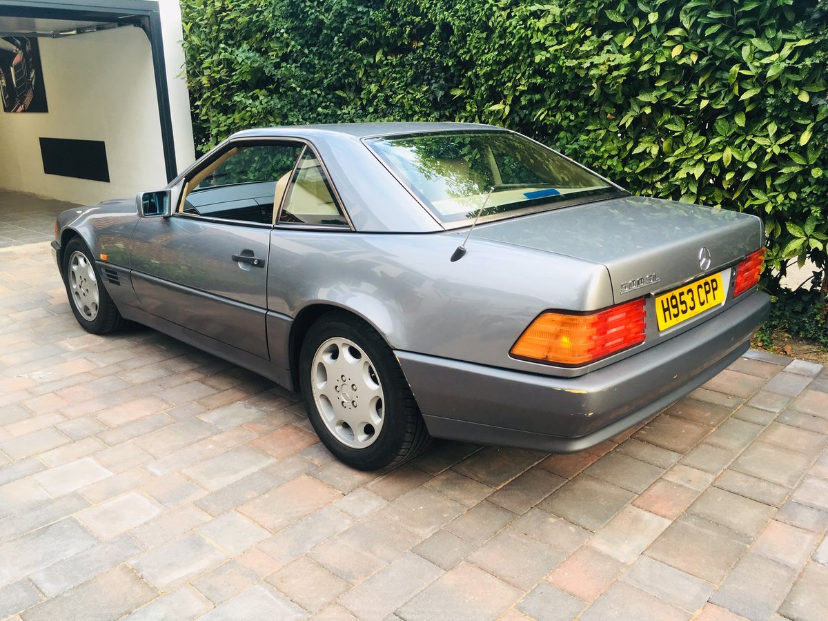 1990 Mercedes 500sl low mileage r129 For Sale (picture 1 of 6)