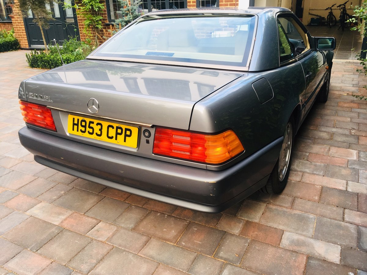 1990 Mercedes 500sl low mileage r129 For Sale (picture 3 of 6)