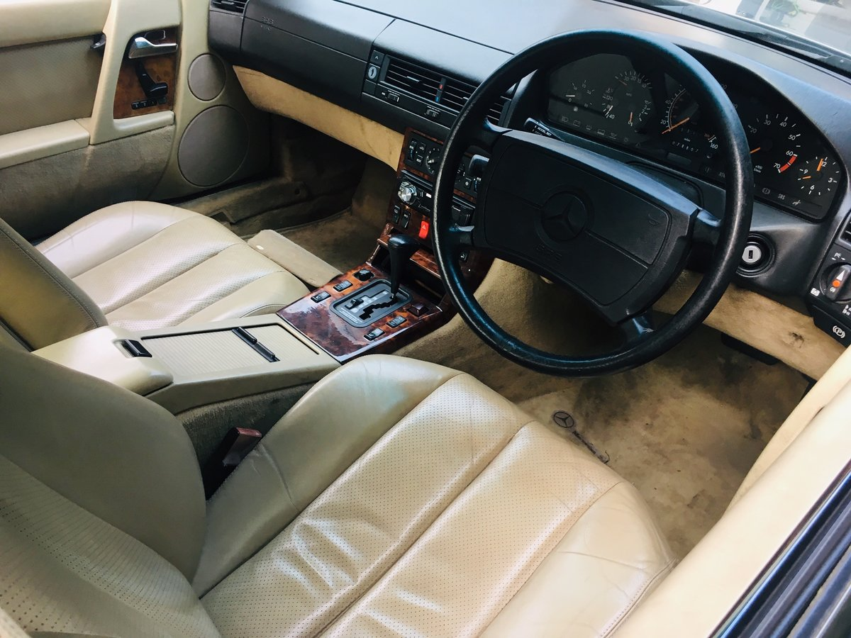 1990 Mercedes 500sl low mileage r129 For Sale (picture 4 of 6)