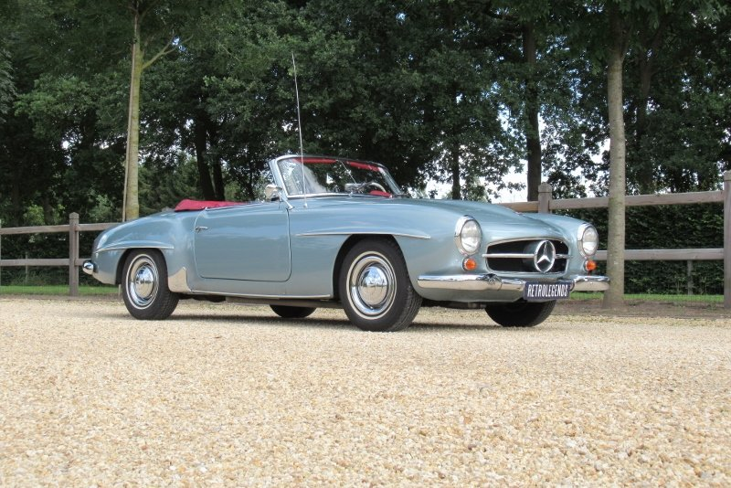 Mercedes-Benz 190 SL Roadster 1961 For Sale (picture 1 of 6)
