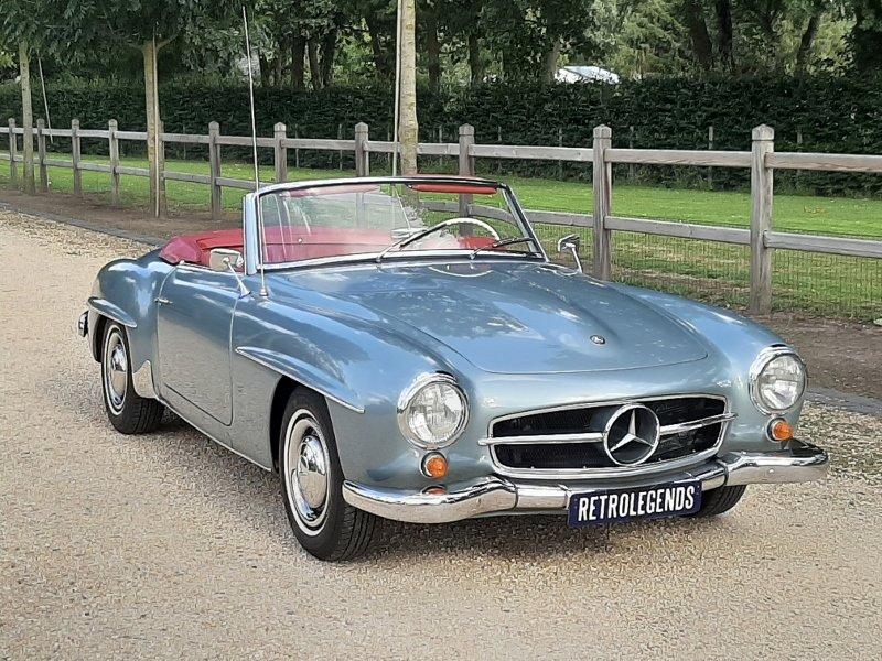 Mercedes-Benz 190 SL Roadster 1961 For Sale (picture 2 of 6)