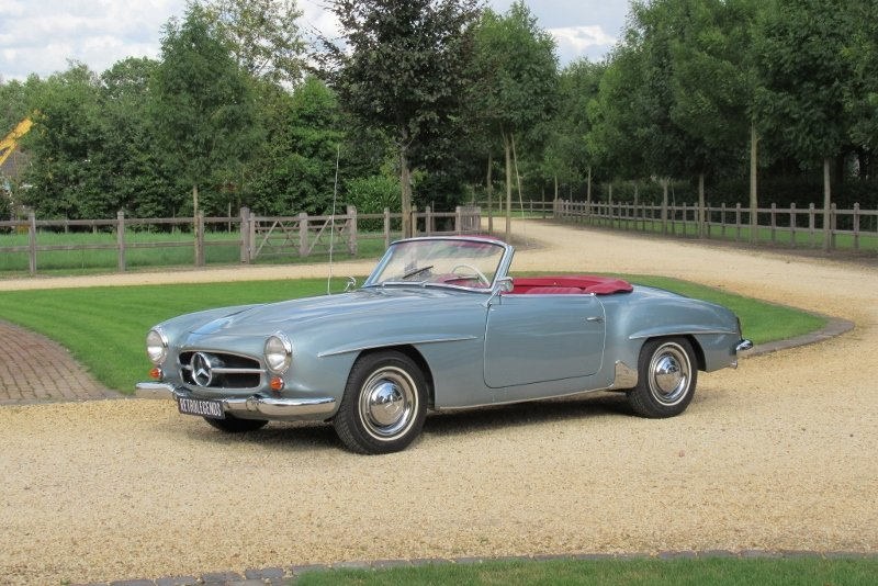 Mercedes-Benz 190 SL Roadster 1961 For Sale (picture 3 of 6)