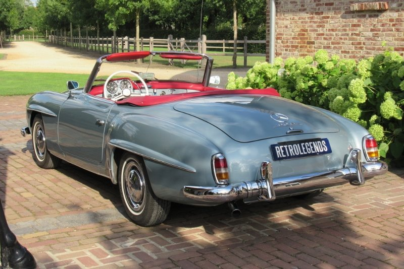 Mercedes-Benz 190 SL Roadster 1961 For Sale (picture 4 of 6)