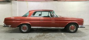 1972 Mercedes 280SE 3.5 Coupe low mileage RHD W111 For Sale