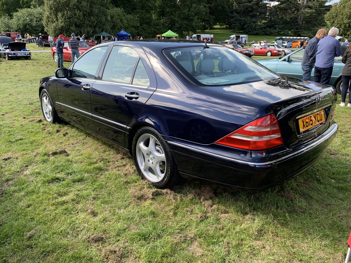 2000 Mercedes S280, only 49,600 miles! For Sale (picture 1 of 6)