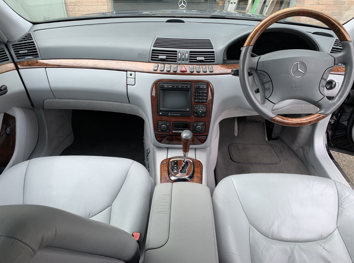 2000 Mercedes S280, only 49,600 miles! For Sale (picture 5 of 6)