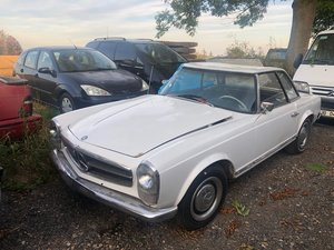 1964 Mercedes 230 sl pagoda project