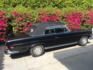 1971 Mercedes-Benz 280SE 3.5 CABRIOLET For Sale