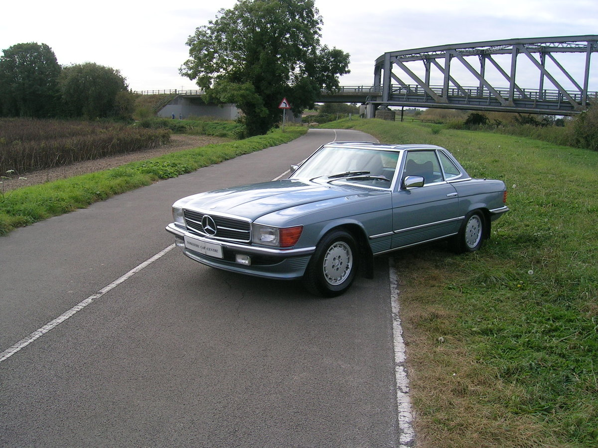 1978 Mercedes- Benz 350 SL Convertible Historic Vehicle For Sale (picture 1 of 6)