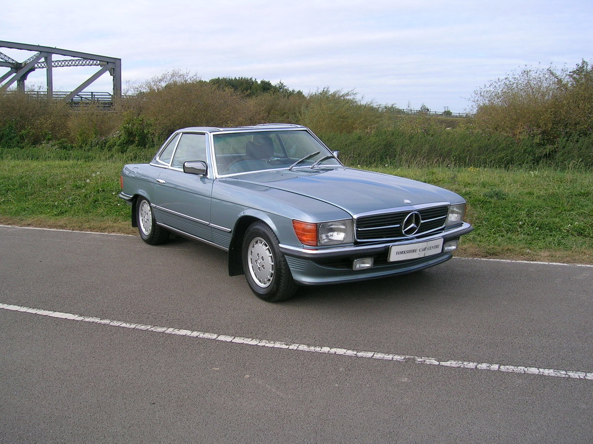 1978 Mercedes- Benz 350 SL Convertible Historic Vehicle For Sale (picture 2 of 6)