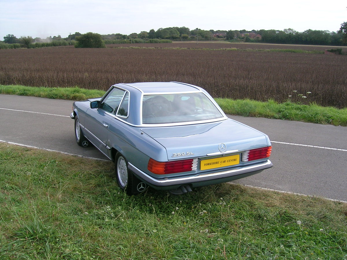 1978 Mercedes- Benz 350 SL Convertible Historic Vehicle For Sale (picture 4 of 6)