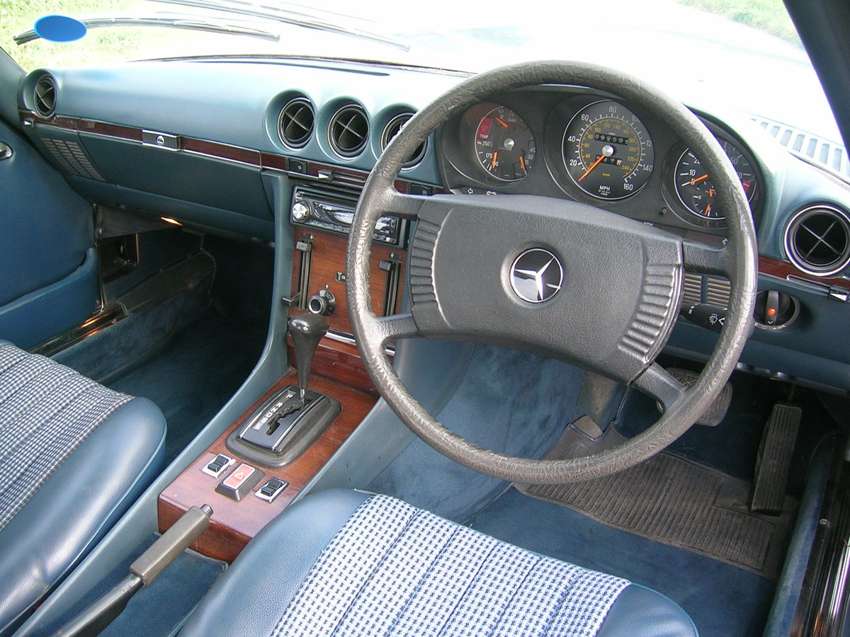 1978 Mercedes- Benz 350 SL Convertible Historic Vehicle For Sale (picture 6 of 6)