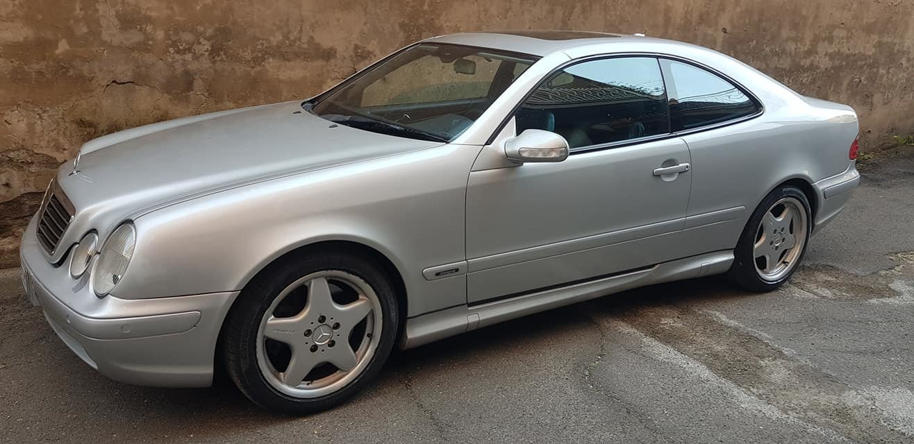 2001 MERCEDES CLK 55 AMG FOR ONLY 8900 EURO For Sale (picture 1 of 6)