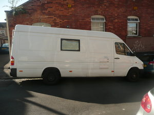 1996 Mercedes hitop camper lwb. For Sale