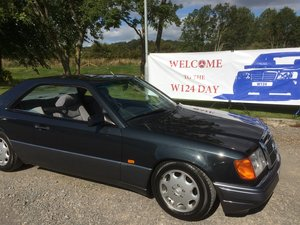 1993 MERCEDES  COUPE 220CE  78000 F/S/H
