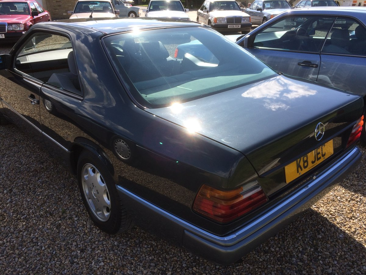 MERCEDES  COUPE 220CE 1993 78000 F/S/H SOLD (picture 3 of 6)