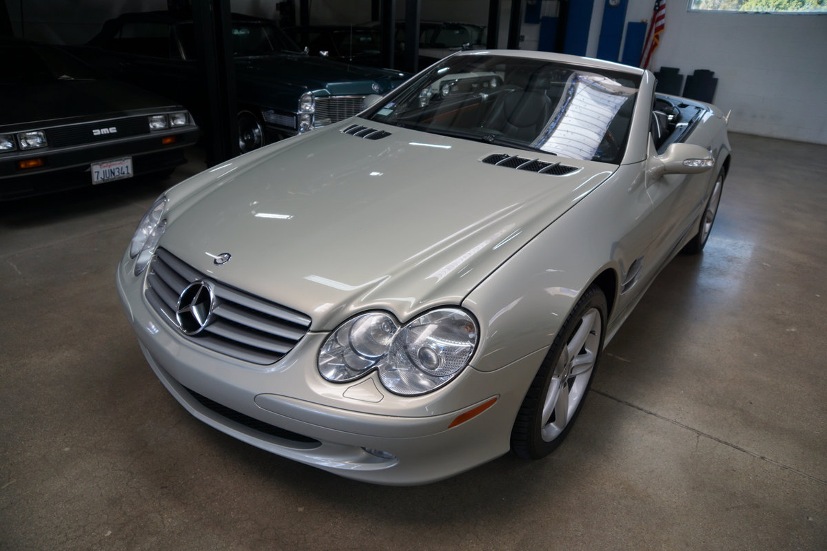 2003 Mercedes SL500 Designo Edition SOLD (picture 1 of 6)