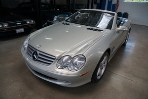 2003 Mercedes SL500 Designo Edition For Sale