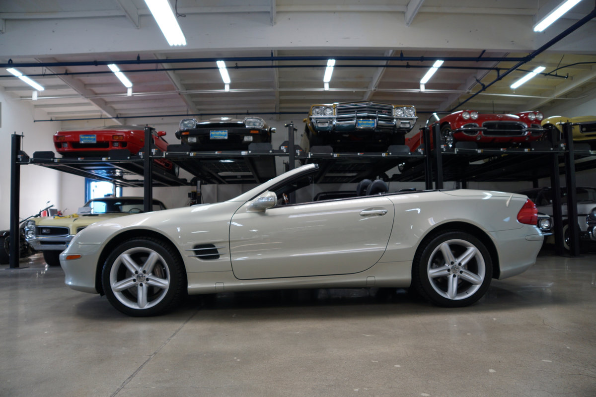 2003 Mercedes SL500 Designo Edition SOLD (picture 2 of 6)