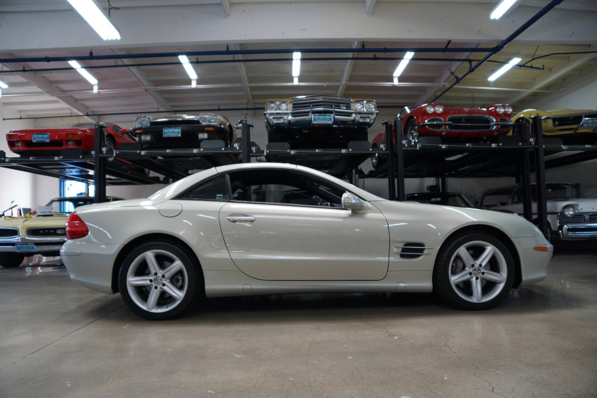 2003 Mercedes SL500 Designo Edition SOLD (picture 3 of 6)