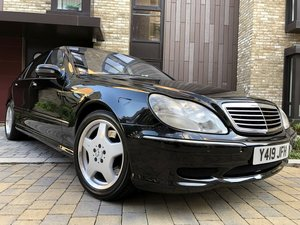 2001 mercedes s55L 5.4 v8 amg Limo 56k low mileage
