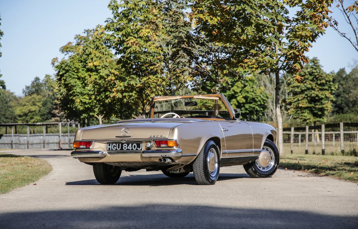1971 Mercedes-Benz 280 SL For Sale (picture 3 of 20)