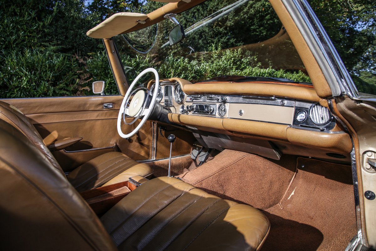 1971 Mercedes-Benz 280 SL For Sale (picture 9 of 20)