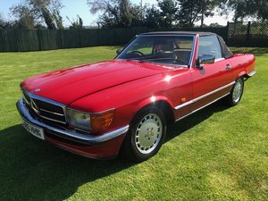 "1987 Mercedes 420 SL V8 R107 ""Facelift' Hard/soft"