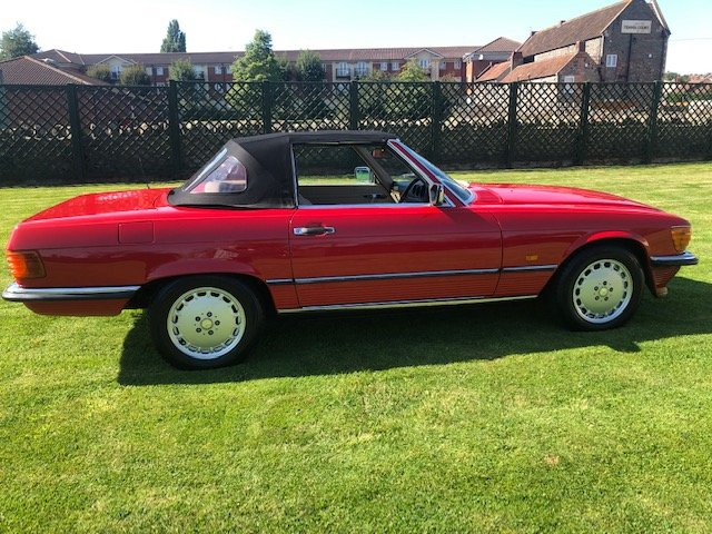 1987 Mercedes 420 SL V8 R107